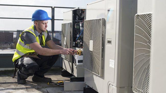پشتیبانی و گارانتی نصب سیستم برودتی